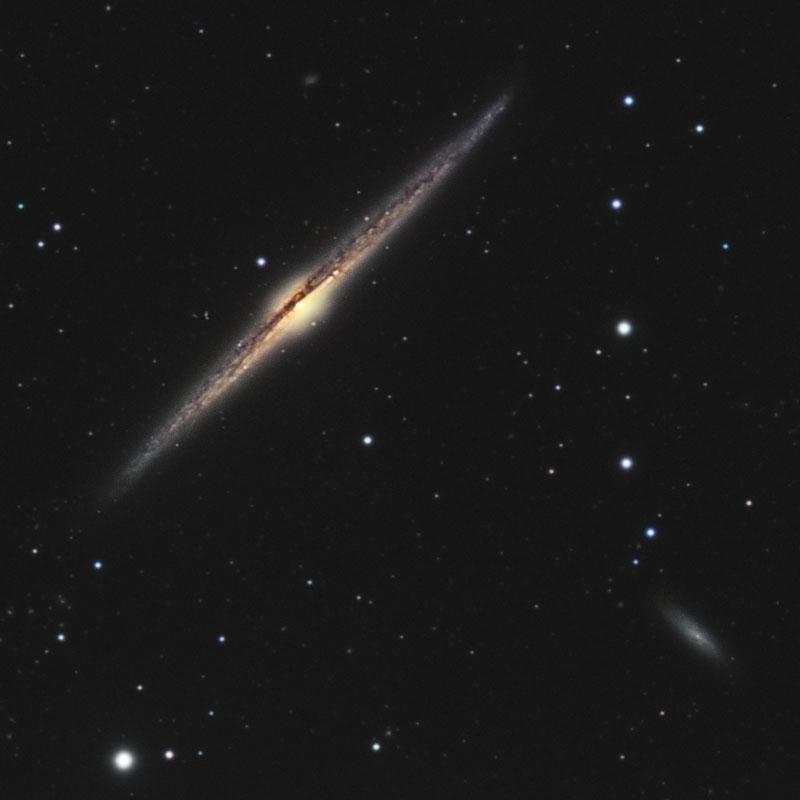 NGC4565  avec  350D   avec explication traitement Photo30c